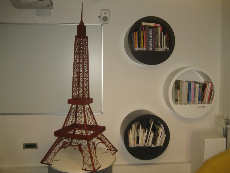une tour eiffel symbole de l amiti franco croate la france en croatie. Black Bedroom Furniture Sets. Home Design Ideas